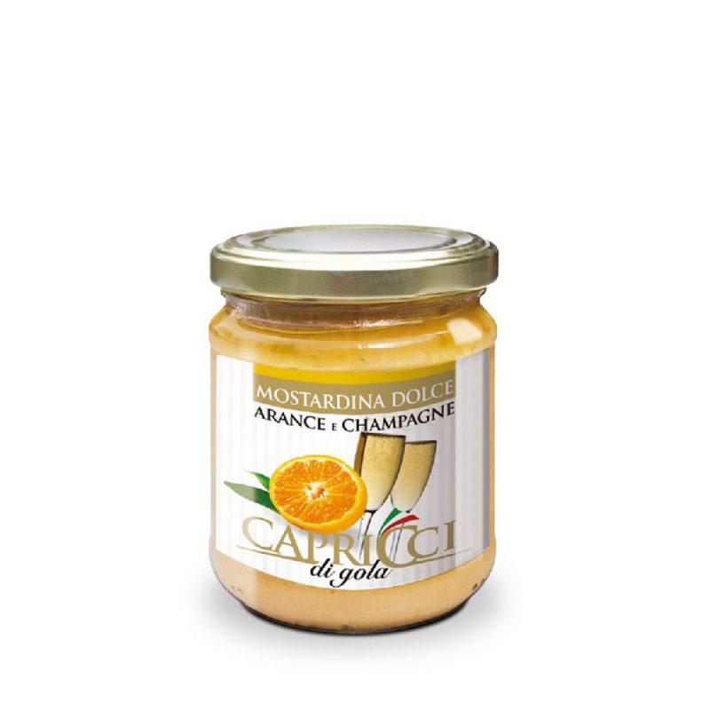 Manzoni Orangen - Champagne Soße süß