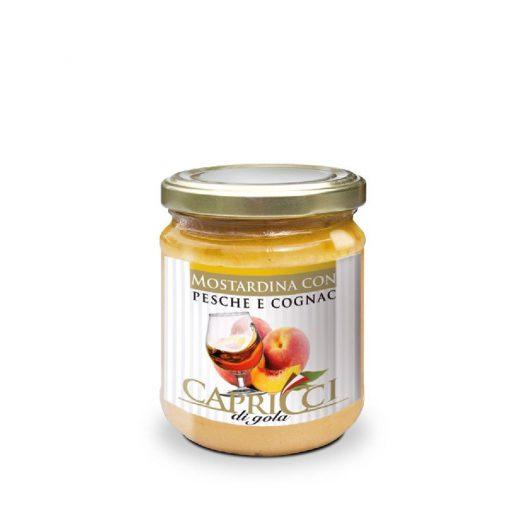 Manzoni Pfirsich - Cognac Soße süß 150 g